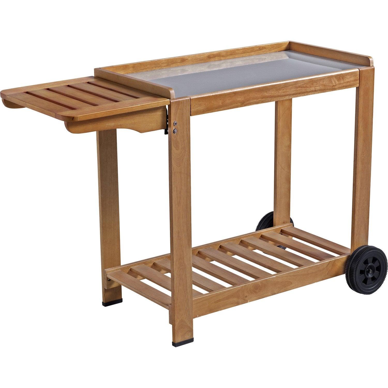 Table A Plancha En Bois