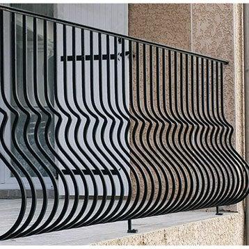 garde corps et barre d 39 appui boite aux lettres profil ferronnerie leroy merlin. Black Bedroom Furniture Sets. Home Design Ideas