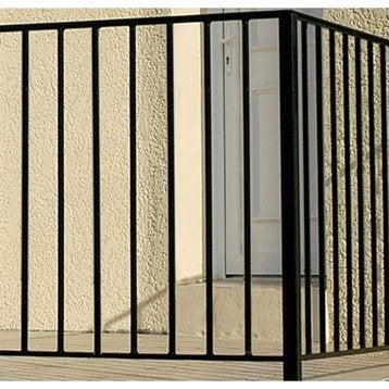 garde corps et barre d 39 appui rambarde rampant fer. Black Bedroom Furniture Sets. Home Design Ideas