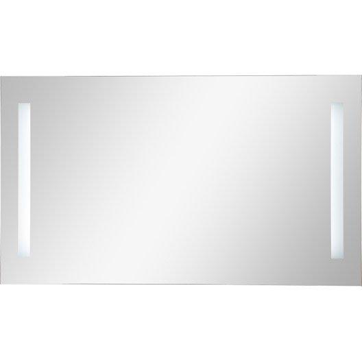 Miroir lumineux de salle de bains miroir de salle de for Miroir 150 cm