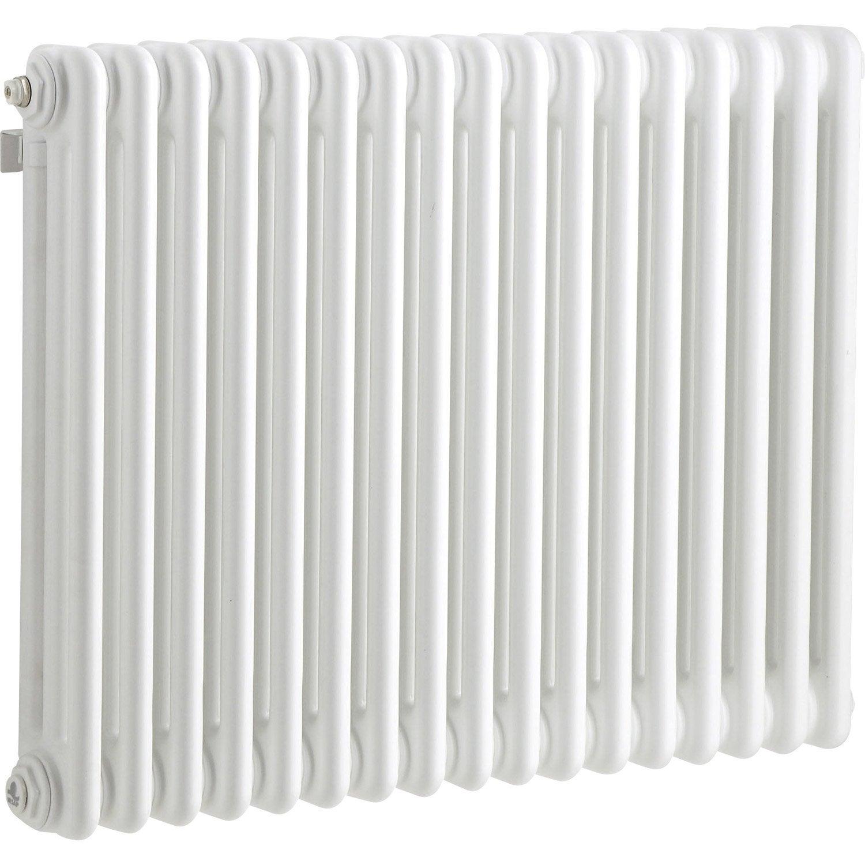 radiateur chauffage central tesi blanc cm 1030 w leroy merlin. Black Bedroom Furniture Sets. Home Design Ideas