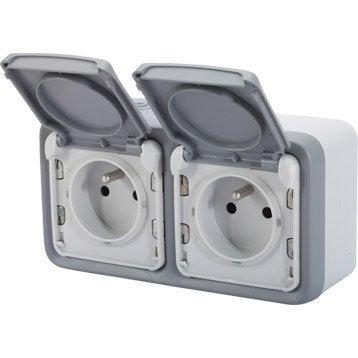 Interrupteur et prise de courant tanche interrupteur et - Cache pour prise electrique ...
