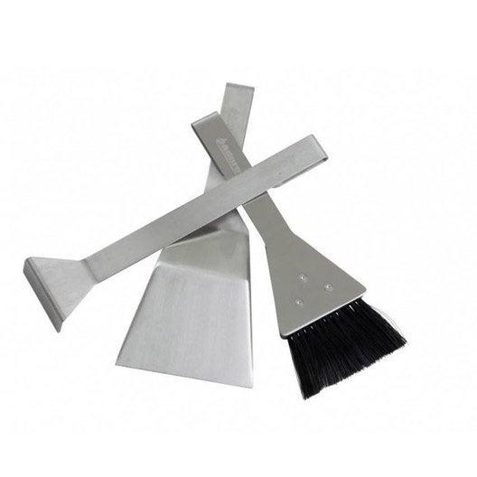 Serviteur acier acier aduro 3 accessoires leroy merlin for Serviteur chambre