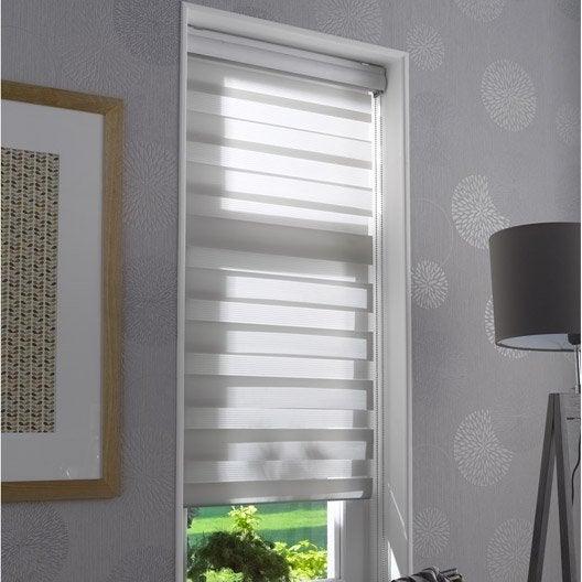 store enrouleur jour nuit polyester coffre clair 147 150 x 210 cm leroy merlin. Black Bedroom Furniture Sets. Home Design Ideas