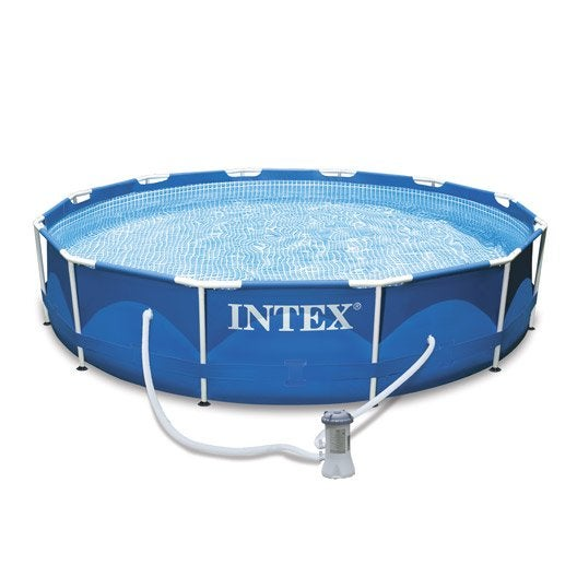 Piscine hors sol autoportante tubulaire 305x76 cm intex for Piscine hors sol intex prix