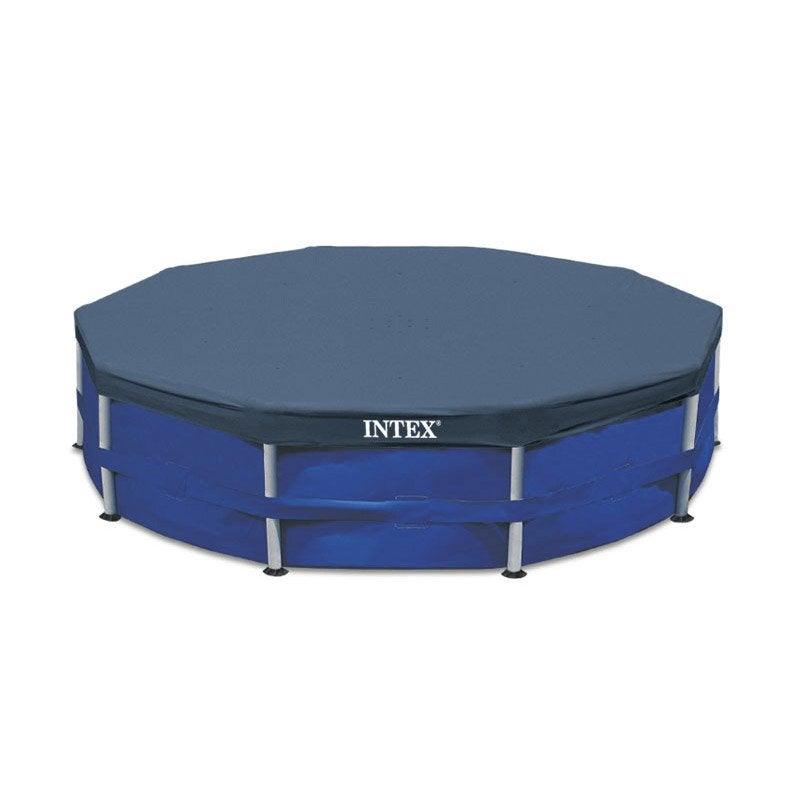 b che hiver intex de protection pour piscine ronde 3m05 diam 305 cm leroy merlin. Black Bedroom Furniture Sets. Home Design Ideas