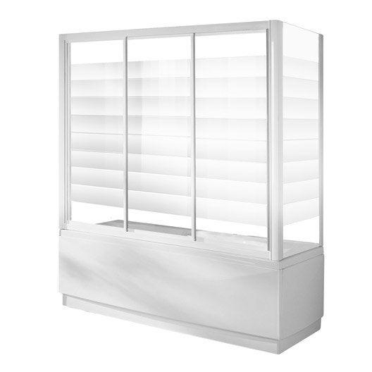 pare baignoire 1 volet verre de s curit 4 mm s rigraphi europa4 leroy merlin. Black Bedroom Furniture Sets. Home Design Ideas