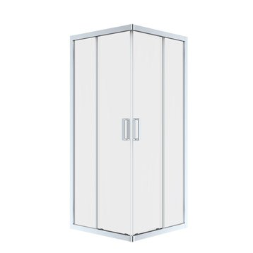 Porte de douche leroy merlin for Porte coulissante salon 140 cm