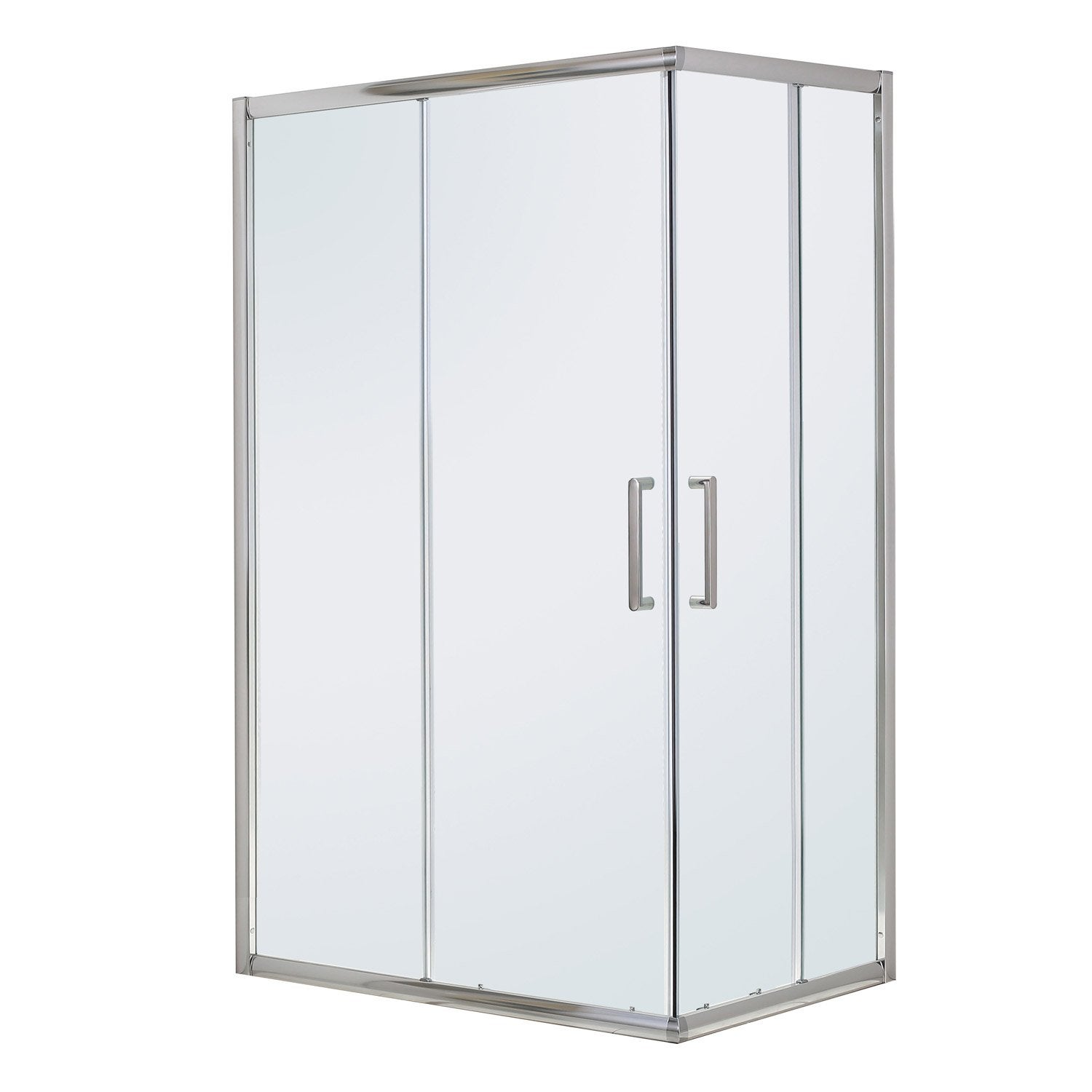 Porte De Douche Angle Rectangle L Cm X L Cm Transparent - Porte douche angle