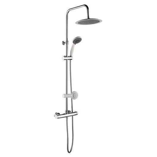 colonne de douche avec robinetterie leroy merlin. Black Bedroom Furniture Sets. Home Design Ideas