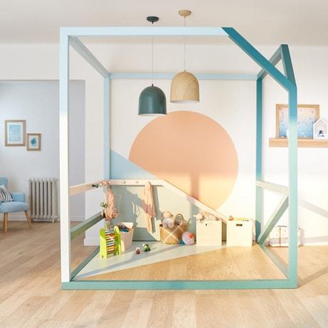 quelles couleurs pour la salle de jeux leroy merlin. Black Bedroom Furniture Sets. Home Design Ideas