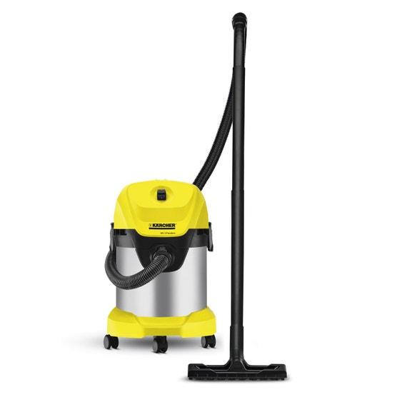 aspirateur eau poussi res et sciures karcher wd3 premium 21 kpa 17 l leroy merlin. Black Bedroom Furniture Sets. Home Design Ideas