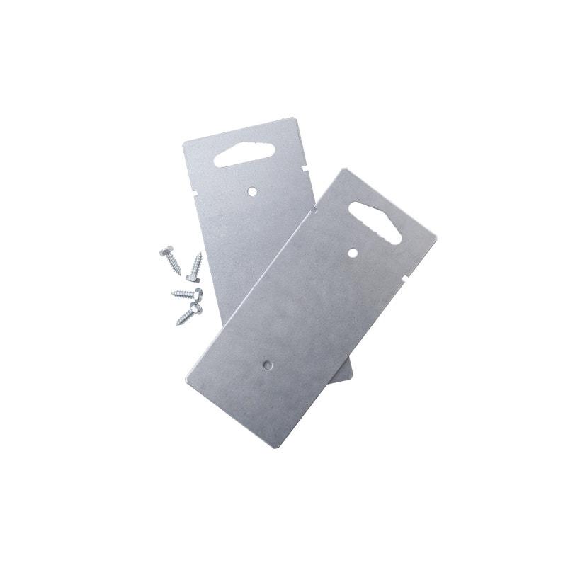 Pied Pour Boîte Aux Lettres H403 X L10 X P45 Cm Renz Gris