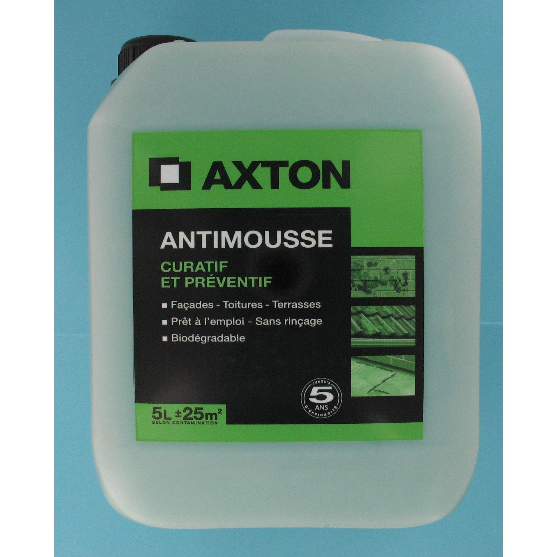 Antimousse Axton Pr 234 T 224 L Emploi 5 L Leroy Merlin