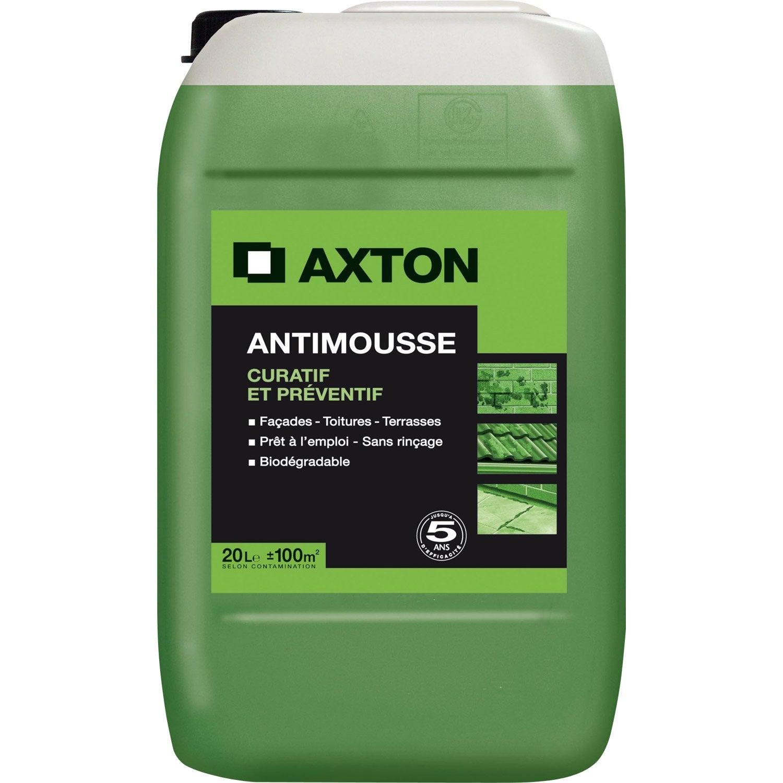Produit pour facade maison plinthes pour faades produit maison gamma utilisation du pulvemix - Anti mousse gazon chaux ...