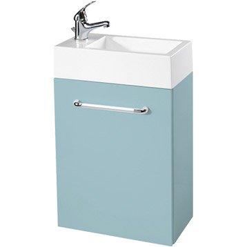 Lave mains et meuble wc abattant et lave mains leroy - Meuble lave main wc leroy merlin ...