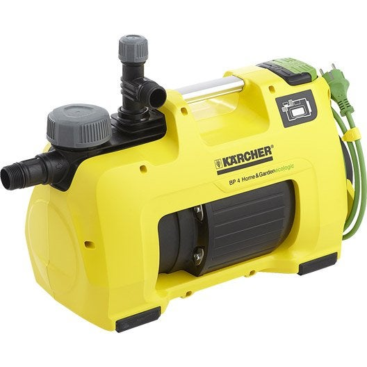 Pompe arrosage automatique karcher bp4 home and garden eco ogic 3800 l h l - Prix karcher leroy merlin ...
