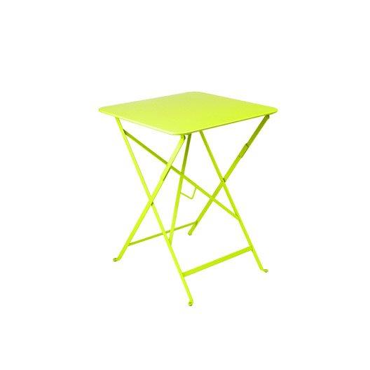 table de jardin fermob bistro carr e verveine 2 personnes. Black Bedroom Furniture Sets. Home Design Ideas