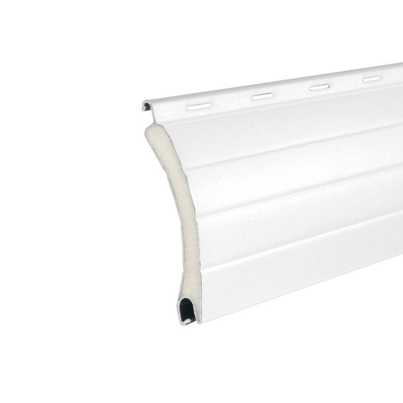 Lot De 4 Lames De Tablier En Alu Blanc Haut 39mm Long 2 50m