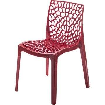 Chaise et fauteuil de jardin mobilier de jardin au - Leroy merlin chaise jardin ...