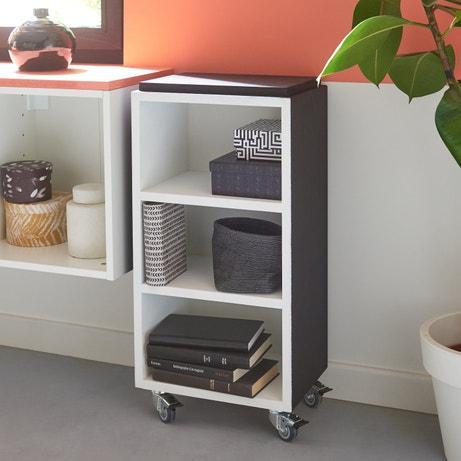 un bureau rabattable dans le salon leroy merlin. Black Bedroom Furniture Sets. Home Design Ideas
