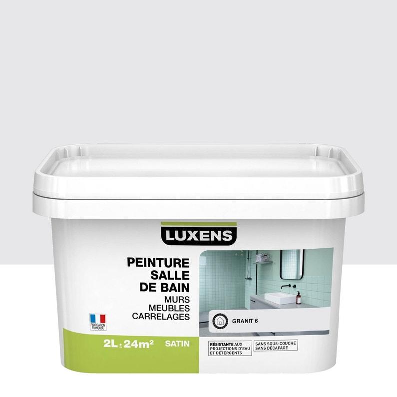Peinture Salle De Bain Murs Meubles Carrelages Luxens Granit 6 2