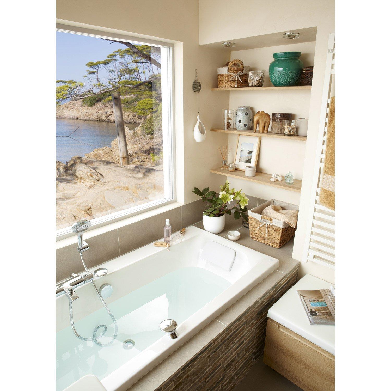 Salle De Bain Kramer ~ baignoire rectangulaire l 180x l 80 cm blanc ideal standard