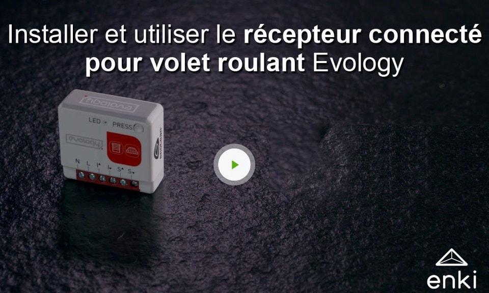 Module Recepteur Connecte Pour Volet Roulant Evology Leroy Merlin