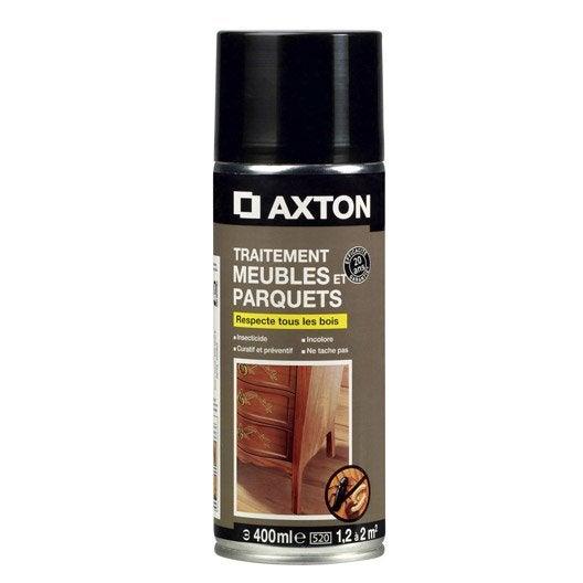 Traitement du bois meuble axton 20 ans 0 4 l leroy merlin - Produit traitement bois exterieur ...