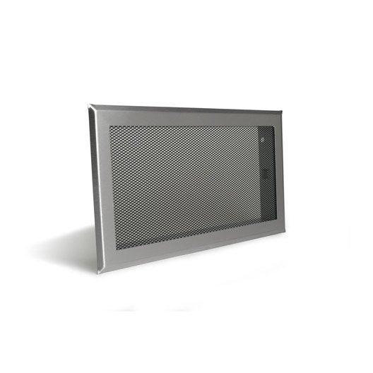 Grille de ventilation inox et acier equation - Grille ventilation cheminee ...