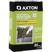 Mortier sans poussière AXTON 30 kg