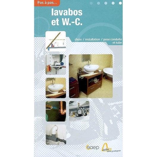 Choisir et installer wc et lavabos saep leroy merlin for Wc lavabo leroy merlin
