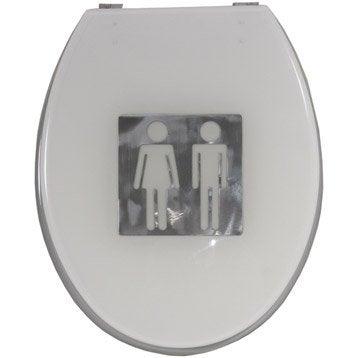 abattant wc automatique leroy merlin g nie sanitaire. Black Bedroom Furniture Sets. Home Design Ideas
