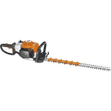 Taille haie outils pour tailler lectrique sans fil essence thermique sur perche - Stihl hs 75 ...