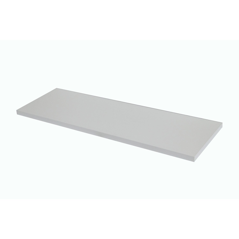 Plan de toilette droit x h x blanc blanc 0 remix leroy merlin - Plan de toilettes seches ...