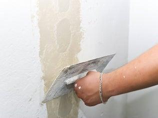 Réparer une façade fissurée