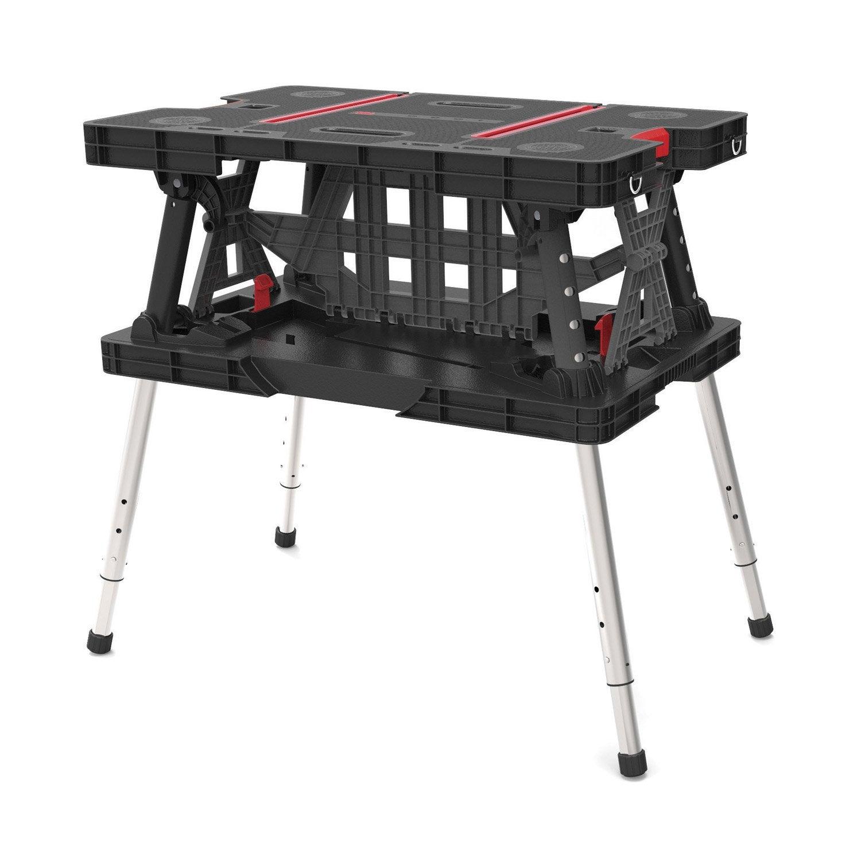 etabli-pliant-keter-avec-pieds-telescopiques-keter-85-x-55-cm Luxe De Ikea Table Basse Relevable Concept