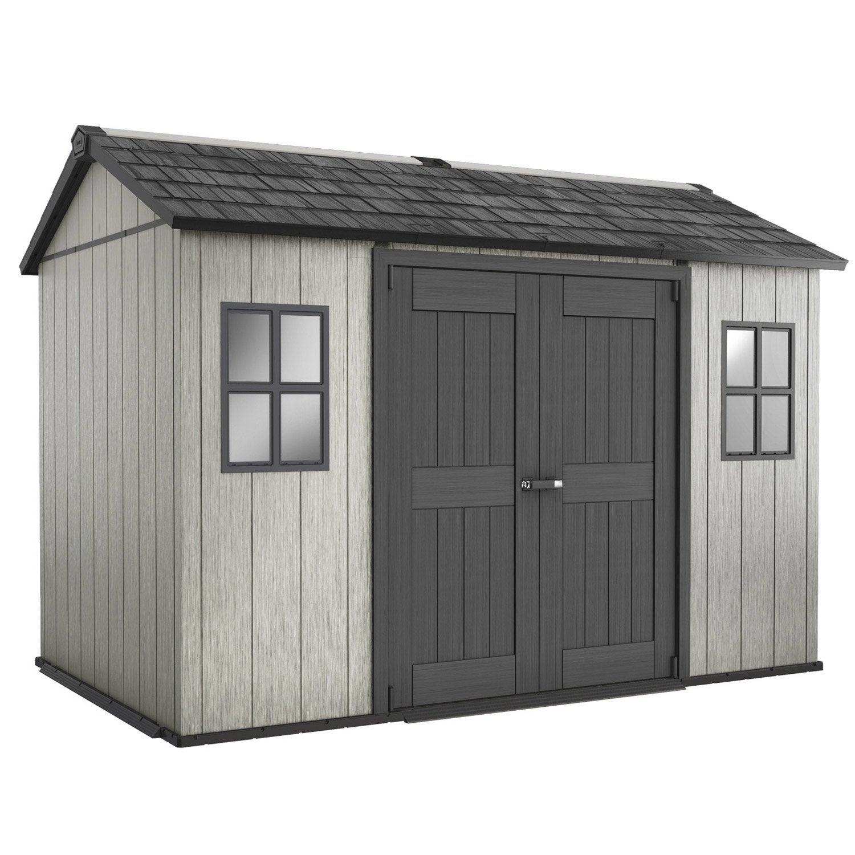abri de jardin r sine oakland 1175 m mm leroy merlin. Black Bedroom Furniture Sets. Home Design Ideas