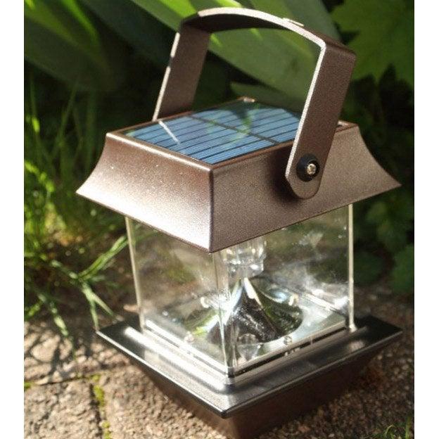Lanterne Rouille Solaire Lm Wattamp; Home Pagode 30 BdCorex