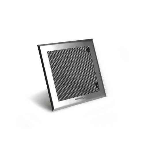grille de ventilation obturable inox et acier equation. Black Bedroom Furniture Sets. Home Design Ideas