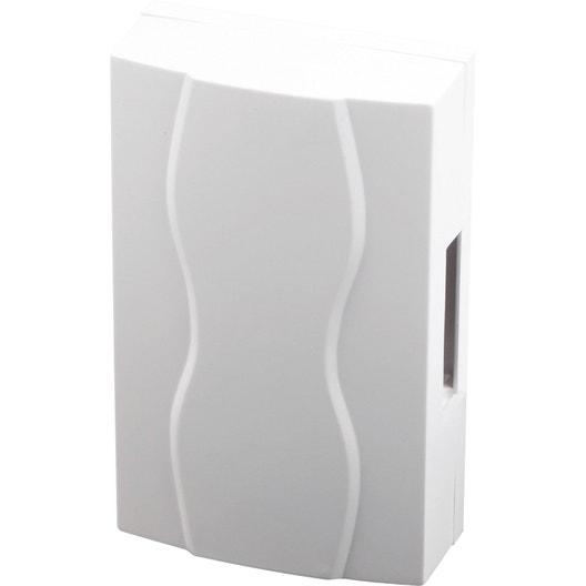 carillon filaire scs sentinel 3248 b 220 v blanc leroy merlin. Black Bedroom Furniture Sets. Home Design Ideas