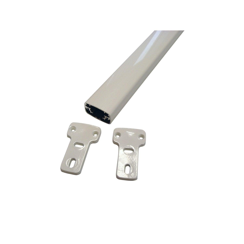 Barre Dappui En Aluminium Laqué Mody Haut 3cm X Larg 140cm