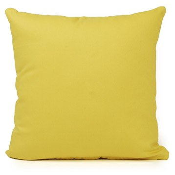 Coussin Bachet, jaune anis n°5, 40 x 40 cm