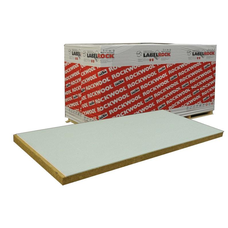 Doublage En Laine De Roche Labelrock Hydro Rockwool 2 5x1 2m Ep 93mm R 2 4