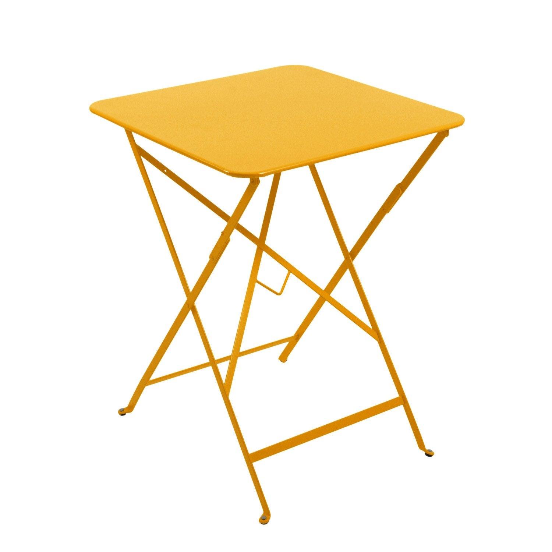 Table Repas 2 Personnes table de jardin de repas fermob bistro carrée miel 2 personnes