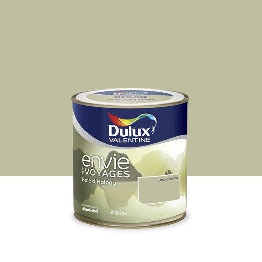 Peinture beige baie d 39 ha long intense dulux valentine envie de voyage 0 5 l leroy merlin for Peinture beige leroy merlin