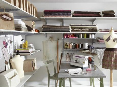 comment cr er une cloison de rangement leroy merlin. Black Bedroom Furniture Sets. Home Design Ideas