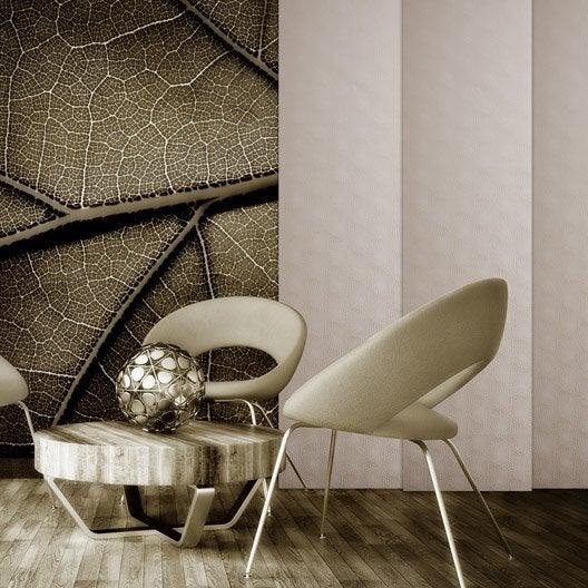 panneau japonais ecaille taupe x cm leroy merlin. Black Bedroom Furniture Sets. Home Design Ideas