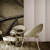 panneau japonais ecaille marron x cm leroy merlin. Black Bedroom Furniture Sets. Home Design Ideas