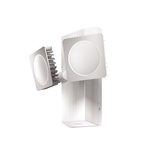 Applique d tection ext rieure noxlite led int gr e blanc for Applique exterieure a detection